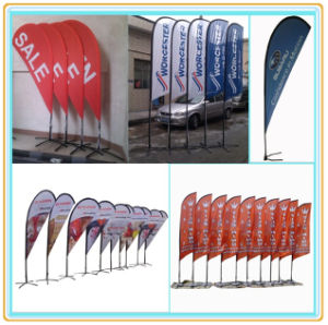 Portable Outdoor Promotional Feather Flag (4.5m) pictures & photos