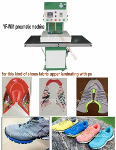 Sport Running Shoes Fabric Upper Surface Vamp Hot Pressing Machine