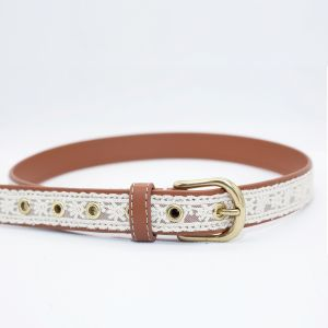 Children PU Leather Lace Kids Belt (RS-131203) pictures & photos