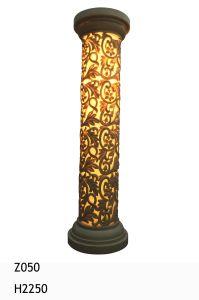 Sandstone Garden Lamp LED Light Sculpture Lantern pictures & photos