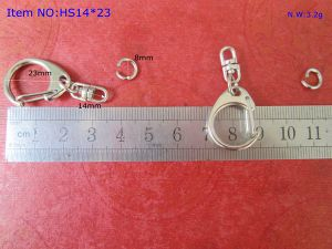 Metal C Shape Hook Keychain for Promotional Gifts