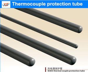Professional Manufacturer Silicon Carbide Thermocouple Protection Tube