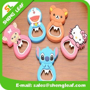 Creative Custom Promotion Rubber Bear Bottle Opener (SLF-BO001) pictures & photos