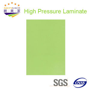 Light Green Color HPL Board/HPL Plywood/Building Material pictures & photos