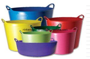 PE Bucket, Garden Bucket, PE Flexible Bucket
