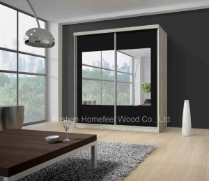 Modern Wardrobe with Sliding Doors (HF-EY0731D) pictures & photos