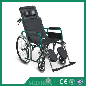 CE/ISO Approved Hot Sale Cheap Medical Steel Wheel Chair (MT05030011) pictures & photos