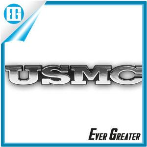 3D Chrome Usmc Emblem Badges with 3m Glue Backside pictures & photos