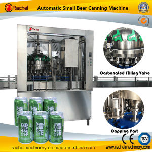 Automatic Beverage Cola Canning Machine pictures & photos