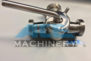 Sanitary Stainless Steel Manual Three Way Plug Valve (ACE-XSF-GX) pictures & photos