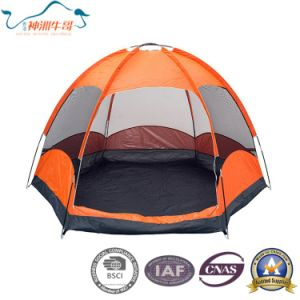 Double Layer Hexagon Camping Tents