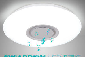 Newest Smart Ceiling Music LED Light Changeable Color with APP Control pictures & photos