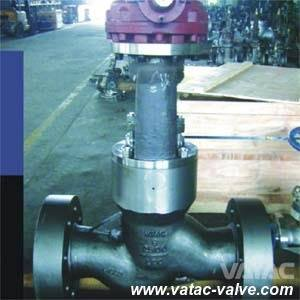 High Pressure Sealed Bonnet Globe Valve with RF or Bw Ends pictures & photos