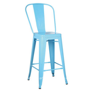 26 Inch Modern Hot Sale Vintage Metal Bar Stool Zs-T-626 pictures & photos