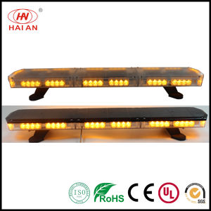 Security LED Warning Strobe Lightbar Police Roof Emergency Amber Lightbar Ambulance Fire Engine Police Car Lightbar Use The Police Car to Open up The Road pictures & photos