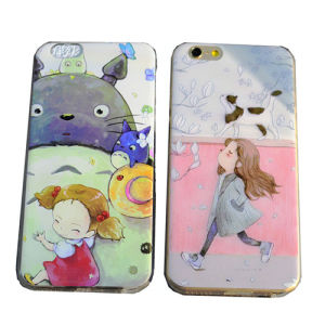 Colorful Pattern TPU Case for iPhone 6 pictures & photos