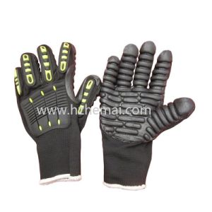 Anti Impact Mechanic Gloves Power Drill Work Glove pictures & photos