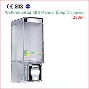 Manual ABS Wall Mounted Liquid Soap Dispenser 250ml pictures & photos