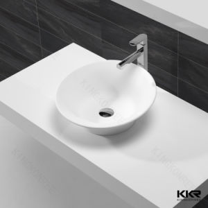 Kkr Resin Stone Solid Surface Wash Basin for Bathroom Room pictures & photos