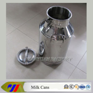Stainless Steel Milking Machine Bucket-40L pictures & photos