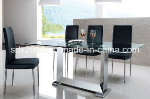 Dining Table / Modern Table / Home Furniture / Restaurant Table / Living Room Furniture / Glass Table CT009 pictures & photos