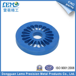 Precision CNC Blue POM Products for Motorcycle (LM-522P) pictures & photos