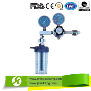 2015 New Design Double Gauge Oxygen Flowmeter pictures & photos