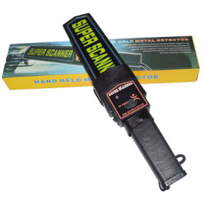Hot Selling High Performance Hand Held Metal Detector pictures & photos
