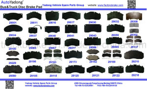 Competitive Price Truck and Bus Brake Pad pictures & photos