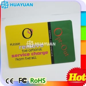 Security Access Control MIFARE Classic 1K Hotel Card pictures & photos