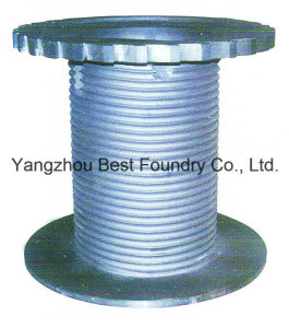 Ductile Cast Iron Reel Part of Printing Machinery