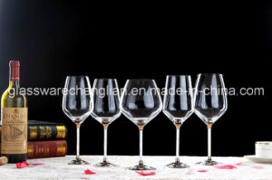 Decorated Fantastic Red Wine Glass (B-WG068) pictures & photos
