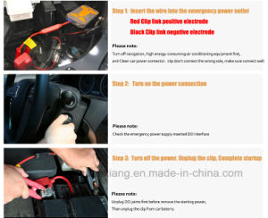 Car Styling Car Charger Pack Vehicle Jump Starter Auto Start Emergency Power Supply pictures & photos