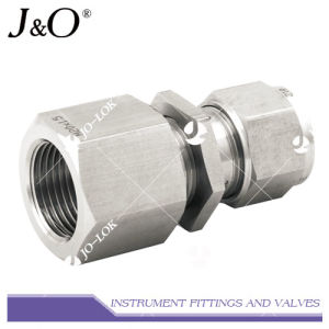Stainless Steel NPT Bulkhead Connector Fitting Pipe Fitting pictures & photos