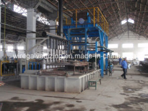 Steel Wire Galfan Hot DIP Galvanizing Equipment with Ce Certificate pictures & photos