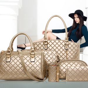 Versatility Sets Lady Handbag 5PCS Fashion Designer Hand Bag (XM0141) pictures & photos