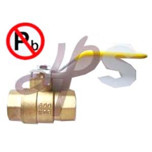 Lead Free Brass Female Brass Ball Valves 600wog (HB53) pictures & photos