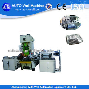 High Speed Semi-Auto Aluminum Foil Tray Making Machine pictures & photos