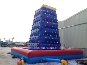 Inflatable Climbing Wall Game for Kids and Adults pictures & photos