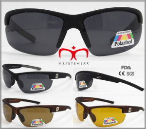 High Quality Men Sport Polarized Sunglasses (WSP604618) pictures & photos