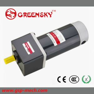 GS Good Quality 24V 250W 104mm DC Gear Motor pictures & photos
