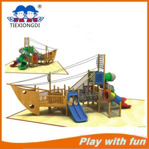 Multifunctional Wooden Outdoor Playground Equipment for Sale pictures & photos