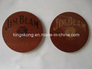 New Design High Quality Cartoon Wood Drink Coaster pictures & photos