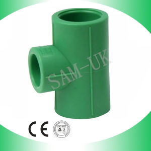 Hydraulic Fittings PPR Pipe Tee Reducing Tee pictures & photos