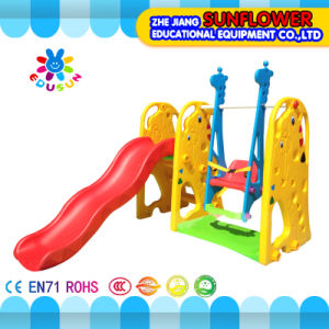 Indoor Playground Giraffe Shape Children Toys Kindergarten Soft Plastic Slide Playground (XYH12066-2)