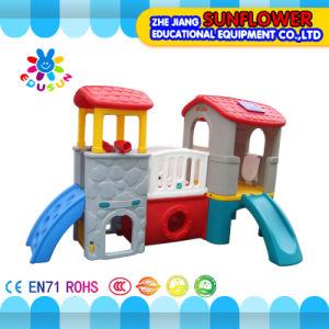 Indoor Playground--Prodigy Club Children Toys Kindergarten Soft Plastic Slide Playground (XYH-0130)