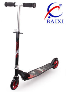 Two Wheel Adult Push Scooter (BX-2MBD-125) pictures & photos