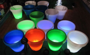 Outdoor Solar LED Pots Light for Garden Plant Flower Decorative pictures & photos