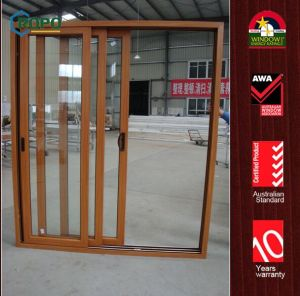Elegant UPVC Sliding Window Door with Excellent Quality Materials pictures & photos
