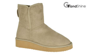 Women′s Wedge Snow Low Boot pictures & photos